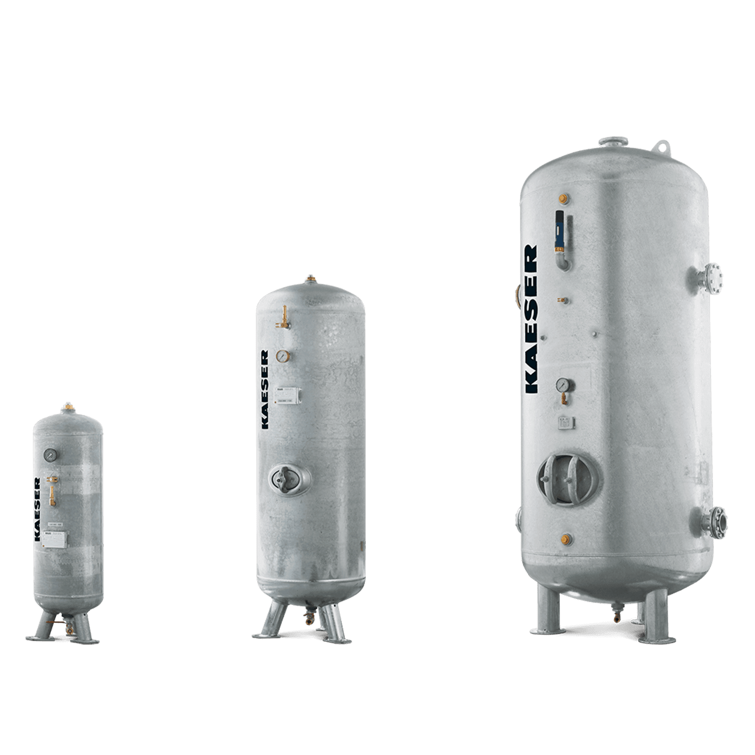 Storage and distribution of compressed air