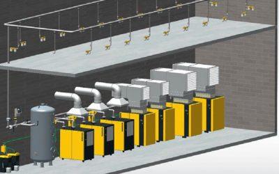 Răcirea eficientă a compresoarelor industriale